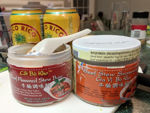 Bo Kho Vietnamese Beef Stew seasoning mixes