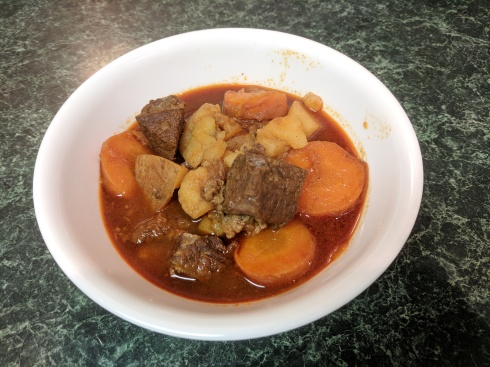 Bowl of Vietnamese Beef Stew Bo Kho